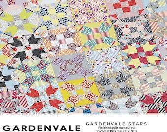 Pattern - Gardenvale Stars - by Jen Kingwell Designs - ( JKD-5163 )