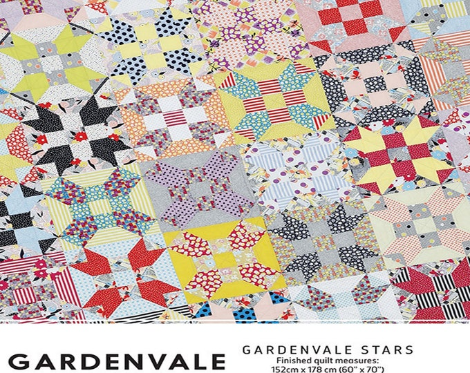 Pattern - Gardenvale Stars - by Jen Kingwell Designs - ( JKD-5163 )