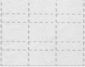 "Interfacing - 2-1/2"" inch Grid - Fusible Interfacing - 48 inch width - Bosal - ( 327CB-WHT )"