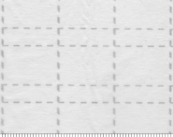 "Interfacing - 2-1/2"" inch Grid - Fusible Interfacing - 48 inch width - Bosal - ( 327CB-WHT )"