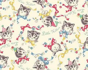 Dear Little World: Little Kittens - Quilt Gate - ( QUGLW2010-12A )