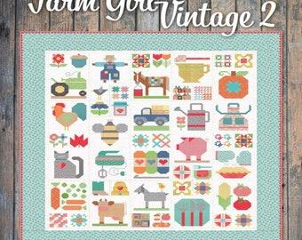 Farm Girl Vintage - Book 2 - Its Sew Emma - Lori Holt of Bee in My Bonnet for Riley Blake Designs - ( P051-FARMGIRL2 )