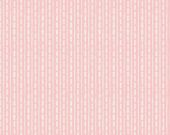 Pink - Stripe - Abbies Garden Collection - Quilting Cotton - Sue Daley Designs with Gabrielle Neil for Riley Blake Designs -( C9574-PINK )