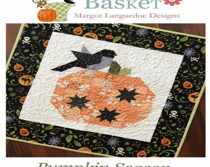Pattern - Pumpkin Season - By Margot Languedoc - ( TPB-1706 )