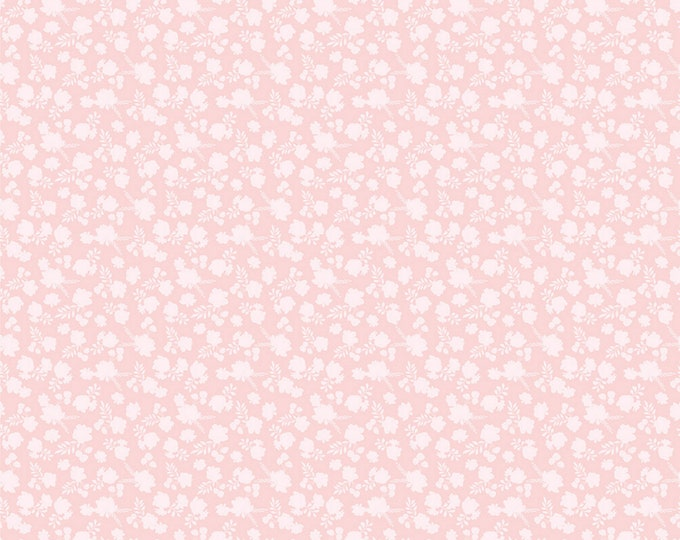 Pink - Misty - Country Roads Collection - Quilting Cotton Fabric - by Poppie Cotton Fabrics - ( CR20166 )