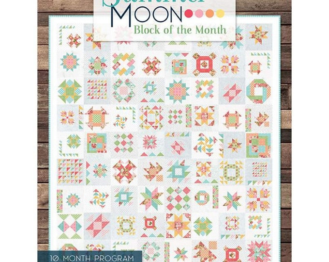 Summer Moon - BOM Book - Its Sew Emma - Carrie Nelson - (P051-SUMMERMOON )