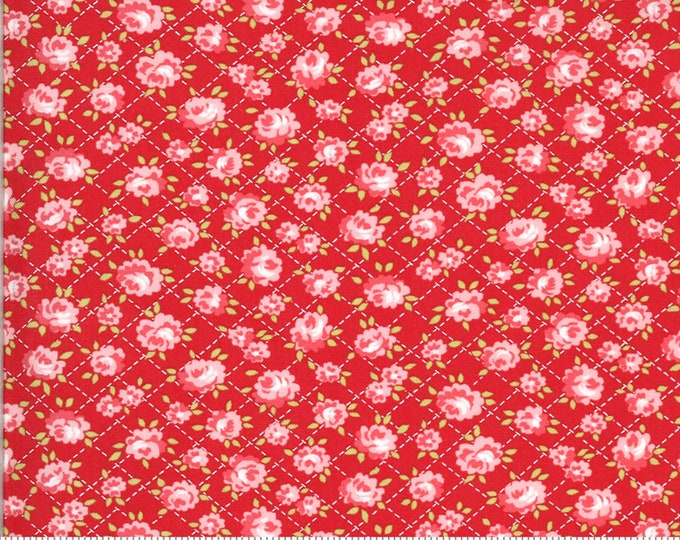 Red - Roses - Shine On Collection - by Bonnie and Camille - Moda - ( 55214-RED )