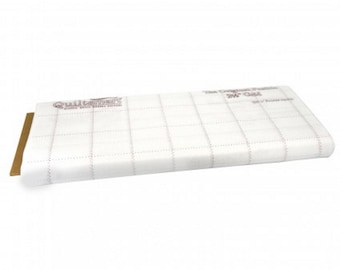 """Quiltsmart - 2.5"""" inch - 2-1/2 inch - Fusible Interfacing - Grid - """" Tips in Description-PDF"""" - ( QS65028 )"""