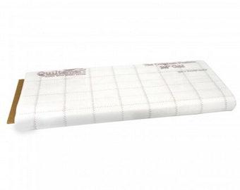 "2.5"" inch - Fusible Interfacing - Grid - Quiltsmart - ( QSM65028 )"