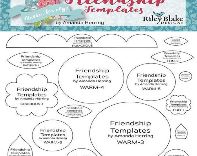 Friendship Templates - Amanda Herring - ( ST-9805 )