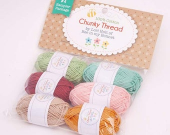 Chunky Thread - Sampler Package #4 - Lori Holt of Bee in My Bonnet for Riley Blake Designs - ( STCT-2671 )