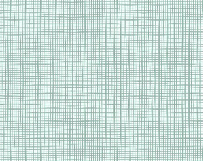 Mint - Weave - Sleep Tight Starry Night Collection - Quilting - by Gabrielle Neil Design Studio for Riley Blake Designs - ( C10265-MINT )