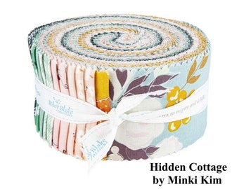 Hidden Cottage - Rolie Polie - 40 Fabrics - Quilting Cotton Fabric - by Minki Kim for Riley Blake Designs - ( RP-10760-40 )
