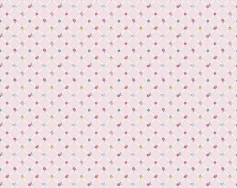 Moments Collection - Pink - Crosswalk - Quilting Cotton Fabric - by Minki Kim for Riley Blake Designs - ( C9016-PINK )