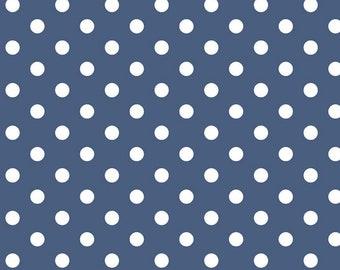 Denim - Blue - Notting Hill - Dots - by Amy Smart for Riley Blake Designs - ( C10203-DENIM )