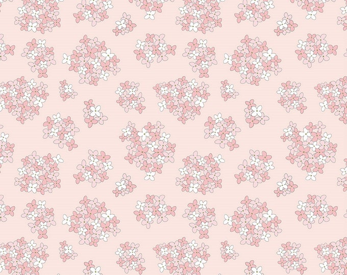 Pink - Almost Heaven - Country Roads Collection - Quilting Cotton Fabric - by Poppie Cotton Fabrics - ( CR20154 )