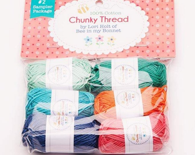 Chunky Thread - Sampler Package #2 - Lori Holt of Bee in My Bonnet for Riley Blake Designs - ( STCT-10907 )