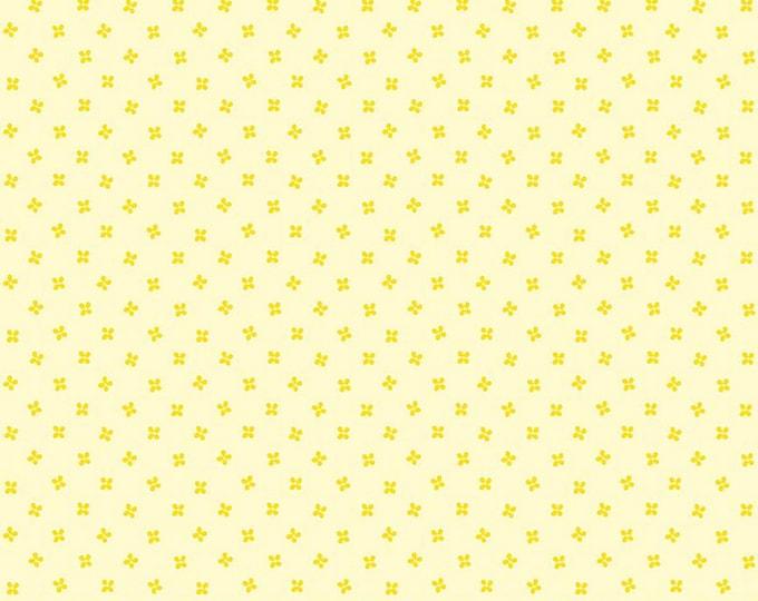 Lemonade - Yellow - Grove - Quilting Cotton Fabric - by Jill Finley of Jillily Studio for Riley Blake Designs - ( C10145-LEMONADE )
