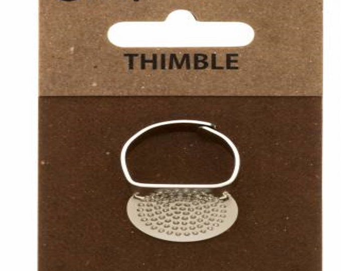 Thimble with Plate - Adjustable Ring - ( SN-009e )