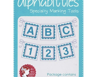Alphabitties - ** 3 Colors Choices ** - Specialty Marking Tools - Letters & Numbers - by Its Sew Emma - ( ISE-ALPHABITTIES )