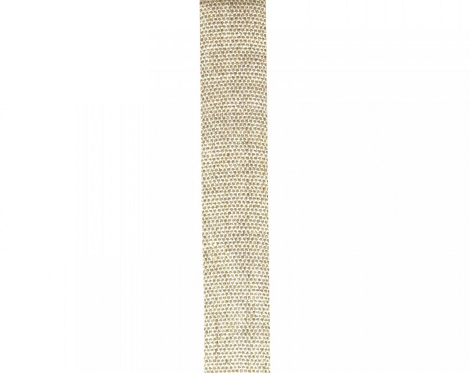 """Stephanoise Trim - Linen - 1"""" inch Width - 25mm - Sold By the Yard - ( PFA20533-25 )"""