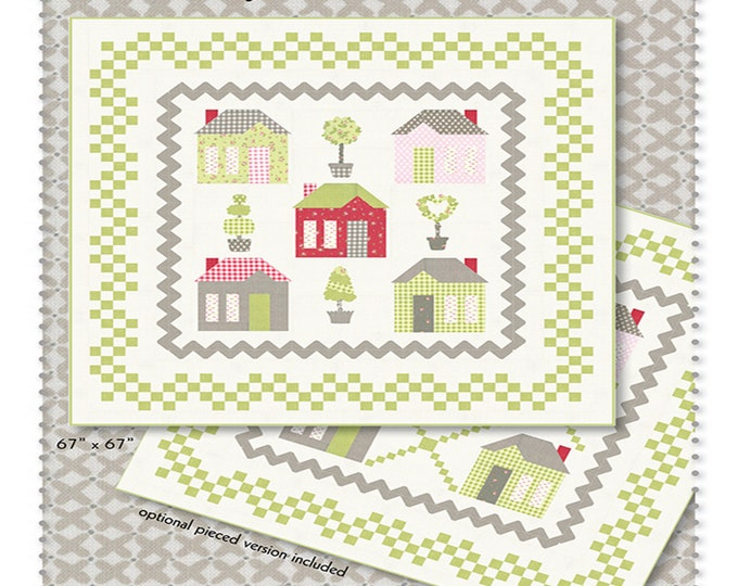 Pattern - Cottage Sweet Home - by Brenda Riddle Designs of Acorn Quilt & Gift Co. - ( AQ-276 )