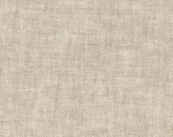 Flax - Essex - Yarn Dye - Linen Cotton - by Robert Kaufman - ( E064-FLAX )