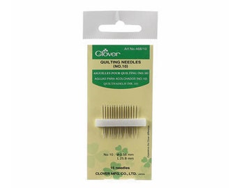 Quilting Needles - Between / Quilting Needles - Size 10 - 15 Count - by Clover - ( 468CV-10 )