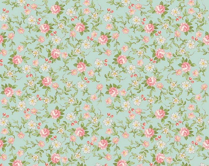 Songbird - Rose & Violet's Garden Party - Quilting Cotton Fabric - by Miss Rose Sister Violet for Riley Blake Designs - ( C10413-SONGBIRD )