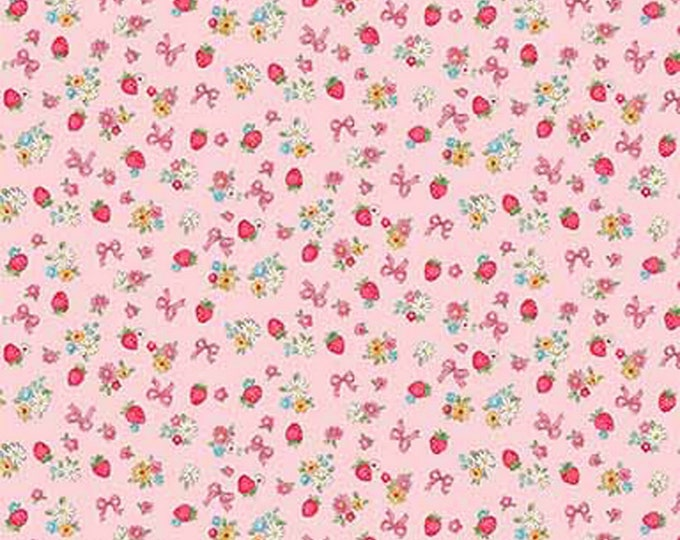 Dear Little World: Margaret & Sophie III Collection - Pink - Quilt Gate - ( QUGLW2000-14B )