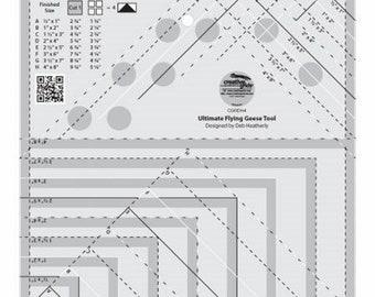 Creative Grids - Ultimate Flying Geese Tool - ( CGRDH4 )