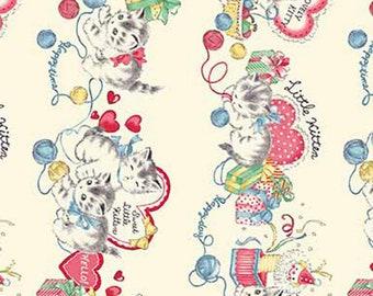 Dear Little World: Little Kittens - Quilt Gate - ( QUGLW2010-11A )