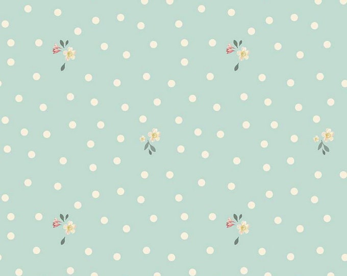 Songbird - Rose & Violet's Garden Party - Quilting Cotton Fabric - by Miss Rose Sister Violet for Riley Blake Designs - ( C10415-SONGBIRD )