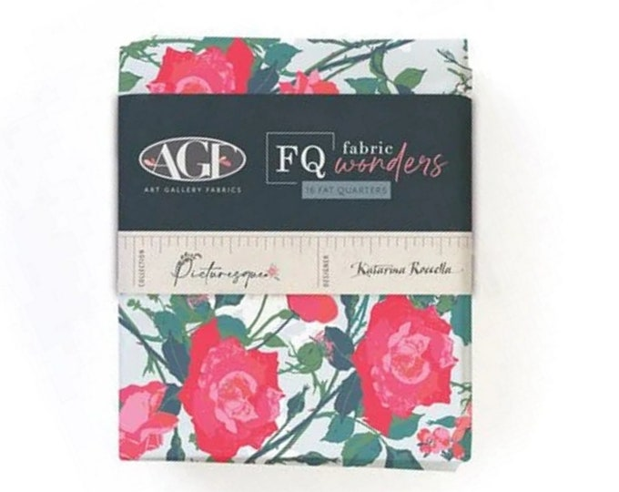 Picturesque - Fat Quarter Bundle - Collection - 16 Fabrics - by Katarina Roccella for Art Gallery Fabrics - ( FQW-PIC )