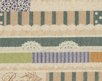 Green - Kokloa Cloth Mix Idee - Canvas - Linen - - KOKKA - ( LOA-31020-002-C )