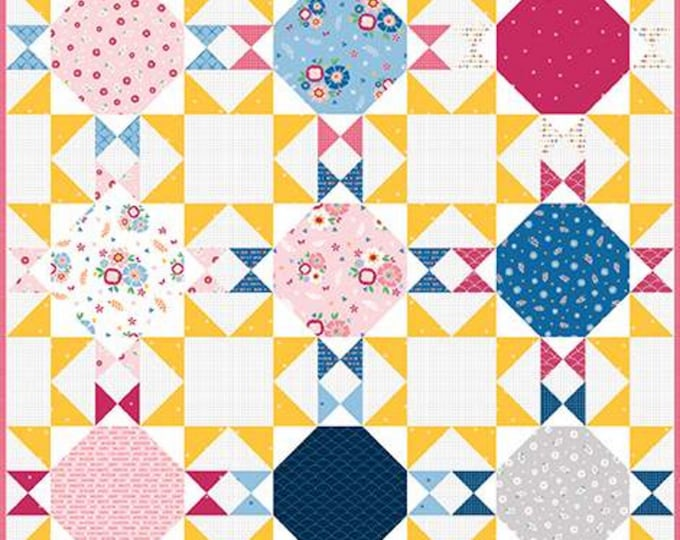Pattern - Sunshine Quilt - Quilt Pattern - by Melanie Collette of Hello Melly Designs - ( P151-SUNSHINE )