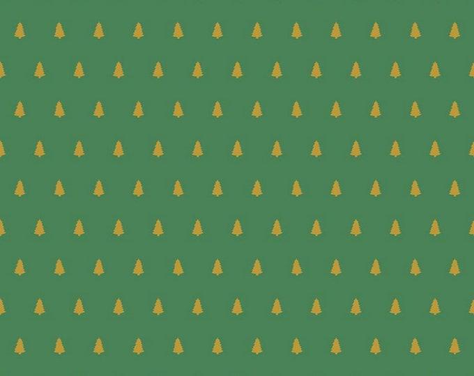 Green - Sparkle Trees - Santa Claus Lane Collection - Melissa Mortenson of Polka Dot Chair for Riley Blake Designs ( SC9613-GREEN )