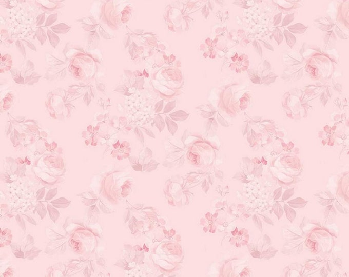 Blush - Rose & Violet's Garden Party - Quilting Cotton Fabric - by Miss Rose Sister Violet for Riley Blake Designs - ( C10412-BLUSH )