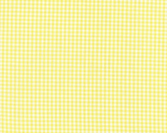 """SALE! - Carolina Gingham Collection  - Yellow - Gingham - 1/8"""" inch - Yarn Dye - Quilting Cotton Fabric - by Robert Kaufman - ( P-5689-14 )"""