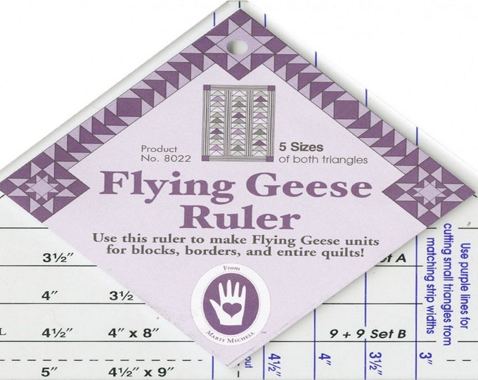 Flying Geese Ruler - Mini Quilt Ruler - ( MM8802 )