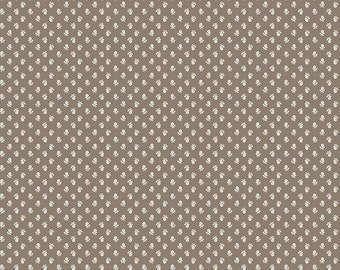 SALE - Pebble - Posy - Prim Collection - Quilting Cotton Fabric - Lori Holt of Bee in My Bonnet for Riley Blake Designs - ( C9702-PEBBLE )