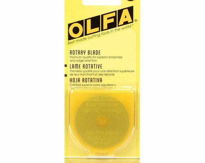 Olfa - Rotary Blade - 45mm - Package contains 1 blade - by Olfa - ( RB45-1 )