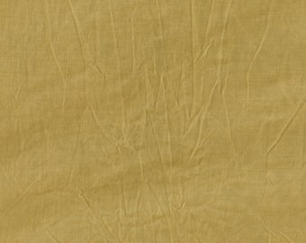 Mustard - Aged - Muslin - Cotton - by Marcus Fabrics - ( 7750-0132-MUSTARD )