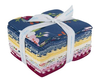 Bloom and Grow Collection - Fat Quarter Bundle - 18 Fabrics - Quilting Fabric - by Simple Simon & Co for Riley Blake Designs -(FQ-10110-18 )