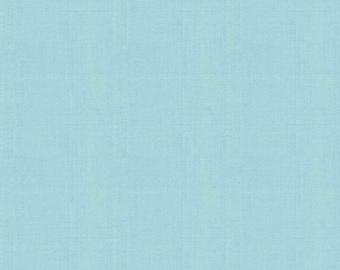 Aqua - Linen - Riley Blake Designs - ( LN300-AQUA )