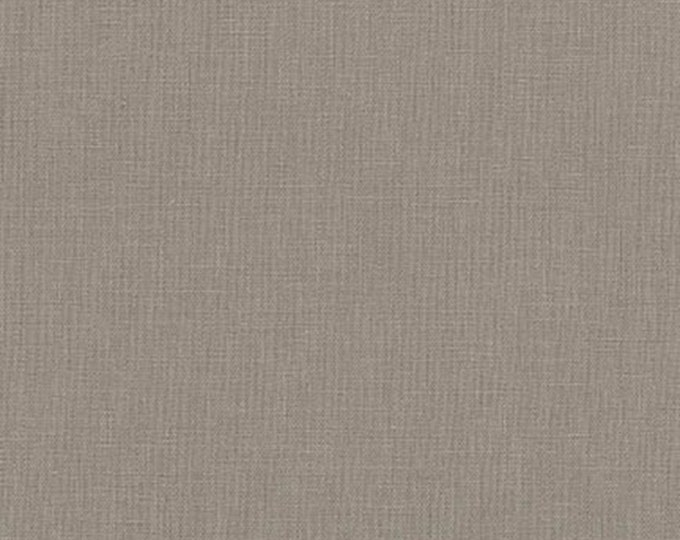"""Pewter - Essex Linen Collection - 43/44"""" inches wide - by Robert Kaufman - ( E014-PEWTER )"""