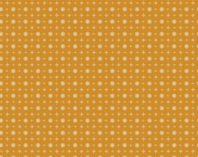 Butterscotch - Vintage - Prim Collection - Quilting Fabric - Lori Holt of Bee in My Bonnet for Riley Blake Designs - ( C9706-BUTTERSCOTCH )