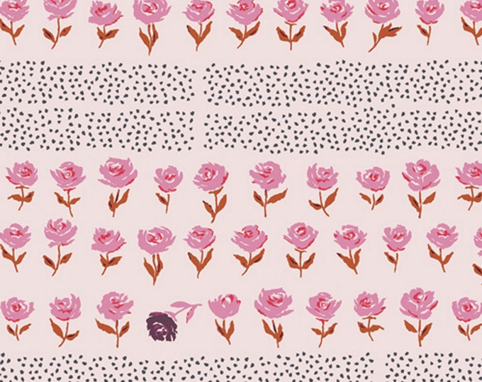 Blush - Hyde Park - Mayfair Collection - Quilting Cotton Fabric - by Amy Sinibaldi for Art Gallery Fabrics - AGF - ( MAF-79208 )