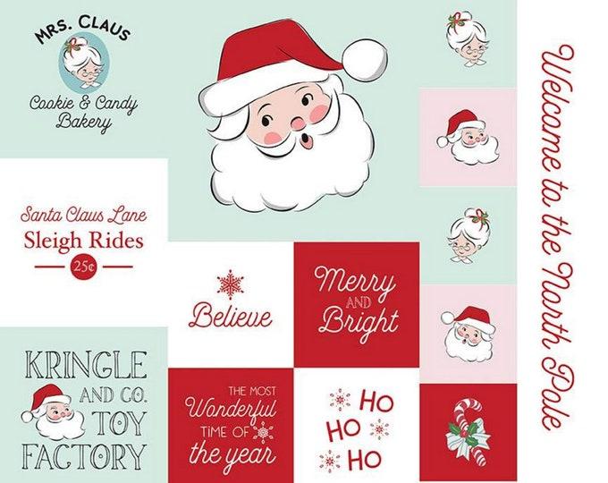 "Santa Claus Lane - Christmas Panel #2 - 36""x44"" Melissa Mortenson for Riley Blake Designs - ( P9618-2 )"