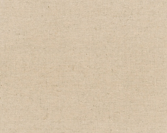 """Essex Canvas Collection - Natural - Essex Cotton Linen Canvas - 43/44"""" inches wide - by Robert Kaufman - ( E119-NATURAL )"""